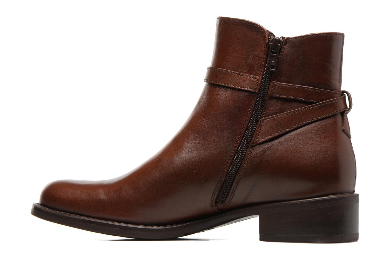 Bottines et boots Elizabeth Stuart Fez 294 Marron vue face