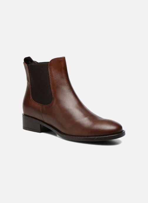 Ankle boots Elizabeth Stuart Ferry 294 Brown detailed view/ Pair view