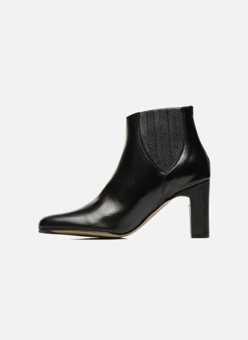 Ankle boots Elizabeth Stuart Ginny 906 Black front view