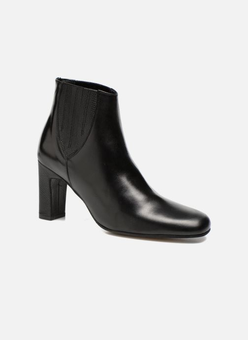 Ankle boots Elizabeth Stuart Ginny 906 Black detailed view/ Pair view