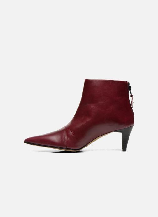 Bordeaux Elizabeth Cuir 304 Boots Bottines Stuart Et Rindy 5jq34ALR