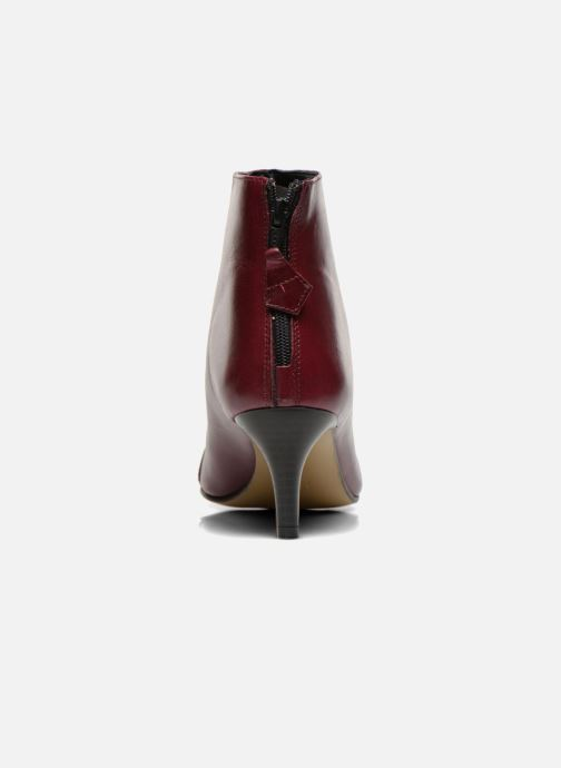 Ankle boots Elizabeth Stuart Rindy 304 Burgundy view from the right