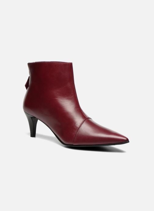 Ankle boots Elizabeth Stuart Rindy 304 Burgundy detailed view/ Pair view