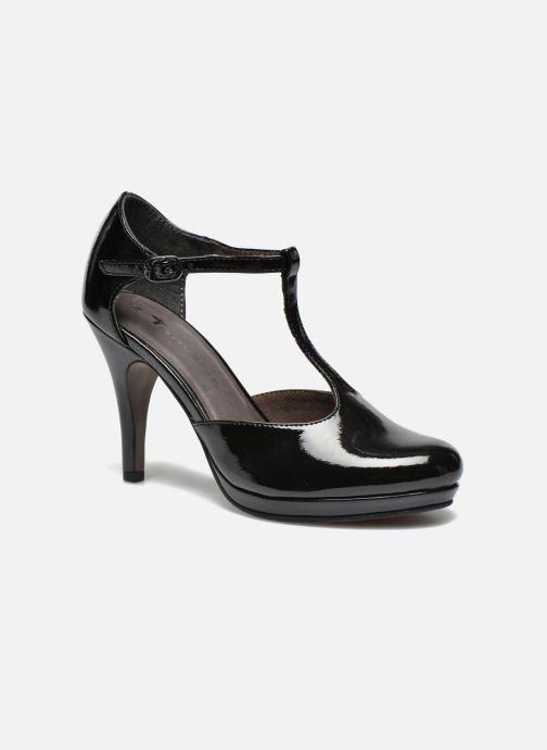 High heels Tamaris Charlista 2 Black detailed view/ Pair view