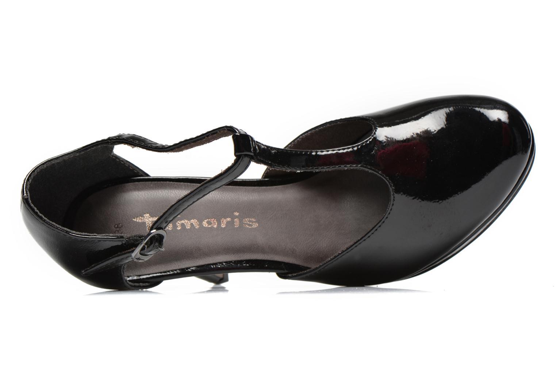 Escarpins Tamaris Charlista 2 Noir vue gauche