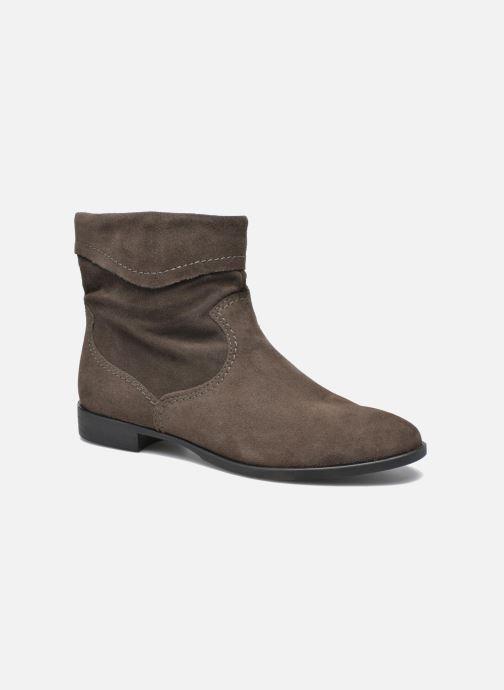 Tamaris Bluiao 2 Beige Bottines et boots chez Sarenza 265984