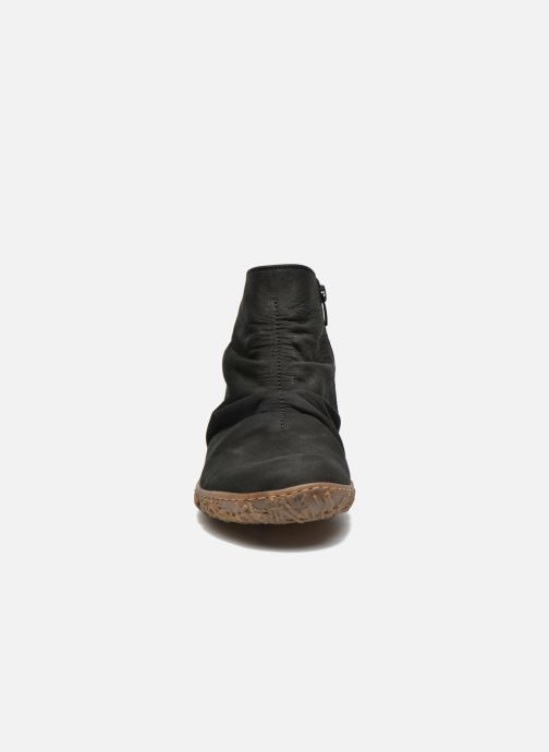 Ankle boots El Naturalista Nido Ella N755 Black model view