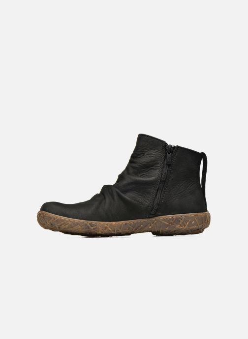 Ankle boots El Naturalista Nido Ella N755 Black front view