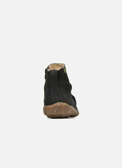 Ankle boots El Naturalista Nido Ella N755 Black view from the right