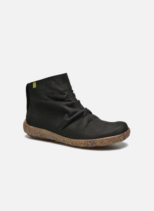 Ankle boots El Naturalista Nido Ella N755 Black detailed view/ Pair view