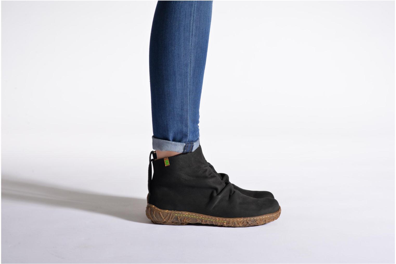Bottines et boots El Naturalista Nido Ella N755 Bleu vue bas / vue portée sac