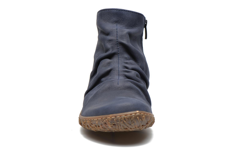 Bottines et boots El Naturalista Nido Ella N755 Bleu vue portées chaussures