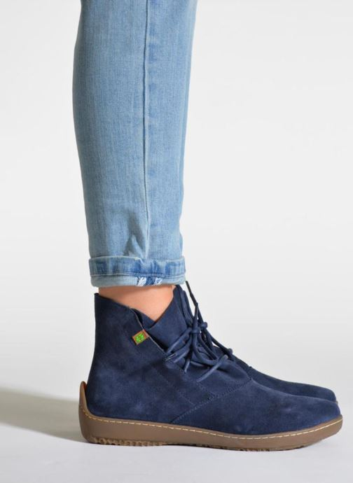 Ankle boots El Naturalista Bee ND82 Blue view from underneath / model view