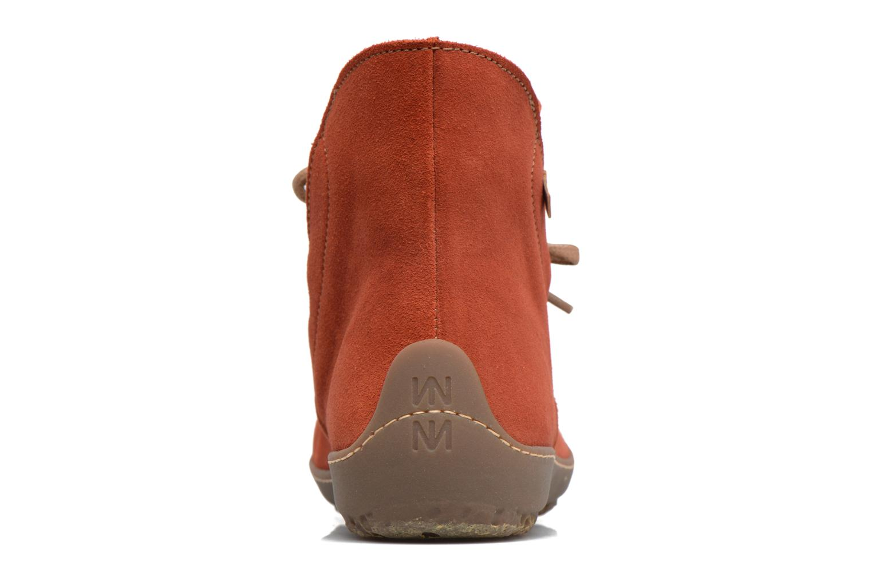 Bottines et boots El Naturalista Bee ND82 Rouge vue droite