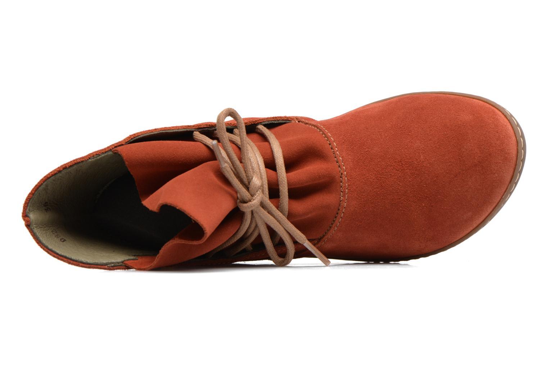 Bottines et boots El Naturalista Bee ND82 Rouge vue gauche
