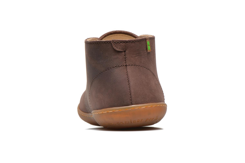 Chaussures à lacets El Naturalista Viajero NE12 W Marron vue droite