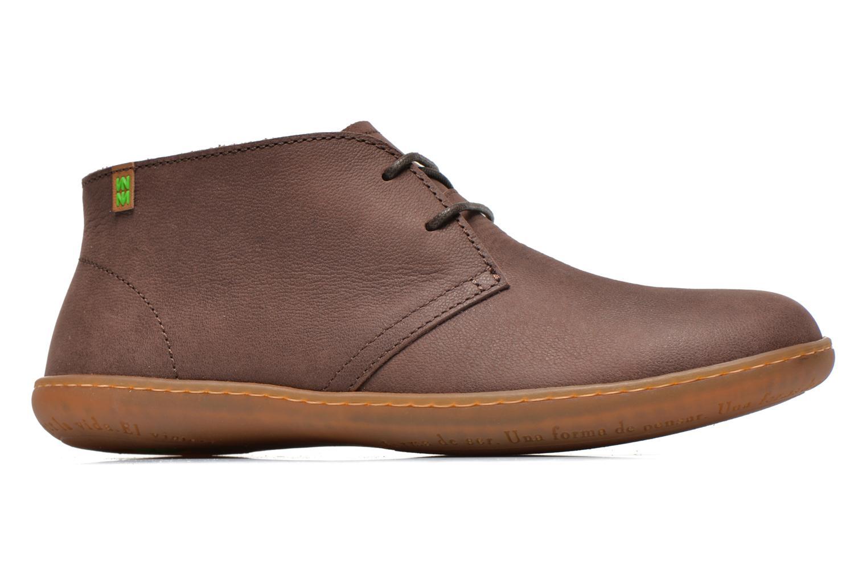 Chaussures à lacets El Naturalista Viajero NE12 W Marron vue derrière