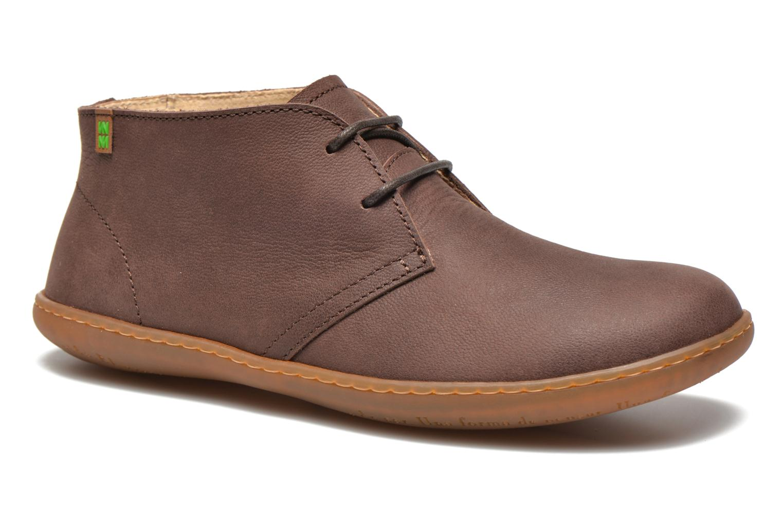 Chaussures à lacets El Naturalista Viajero NE12 W Marron vue détail/paire