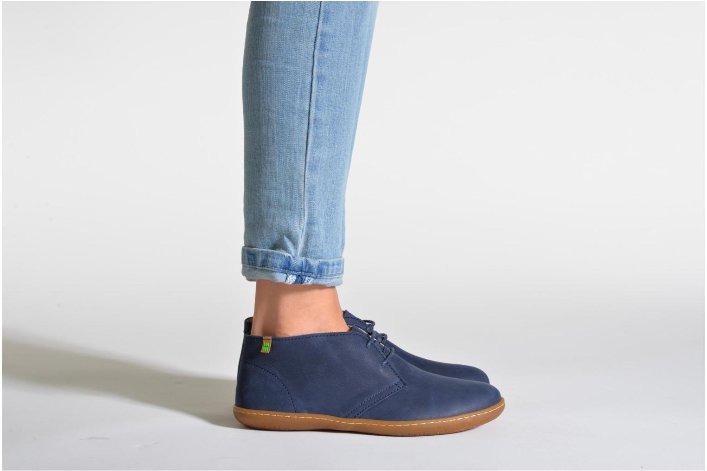 Chaussures à lacets El Naturalista Viajero NE12 W Noir vue bas / vue portée sac