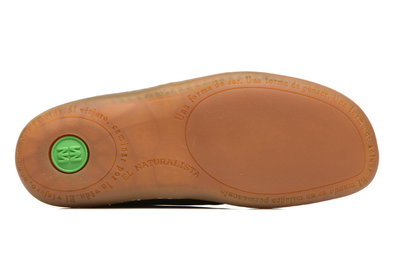 Chaussures à lacets El Naturalista Viajero NE12 W Noir vue haut