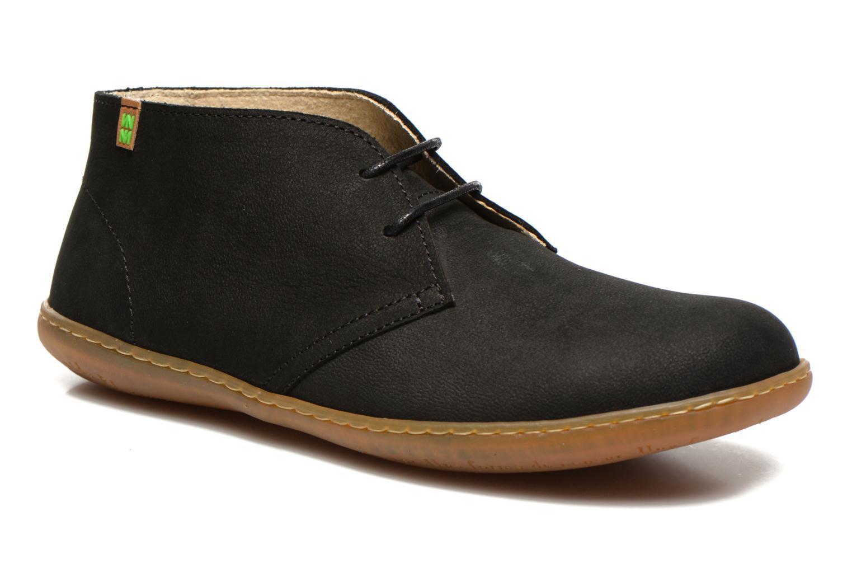 Chaussures à lacets El Naturalista Viajero NE12 W Noir vue détail/paire