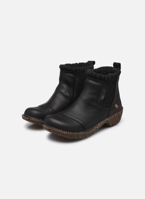 Stiefeletten & Boots El Naturalista Yggdrasil NE23 schwarz ansicht von unten / tasche getragen