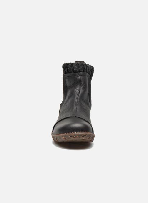 Stiefeletten & Boots El Naturalista Yggdrasil NE23 schwarz schuhe getragen
