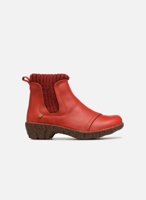 Ankle boots El Naturalista Yggdrasil NE23 Red back view
