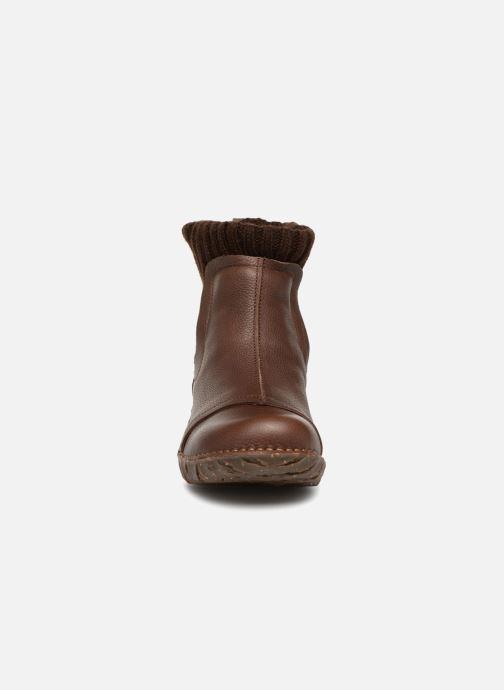 Bottines et boots El Naturalista Yggdrasil NE23 Marron vue portées chaussures