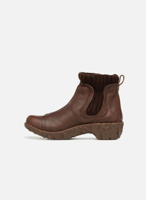 Bottines et boots El Naturalista Yggdrasil NE23 Marron vue face