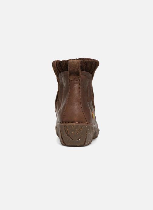 Bottines et boots El Naturalista Yggdrasil NE23 Marron vue droite