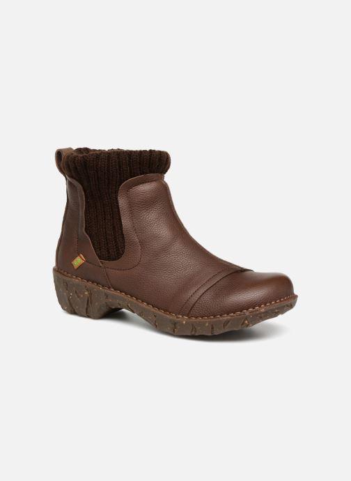 Ankelstøvler El Naturalista Yggdrasil NE23 Brun detaljeret billede af skoene
