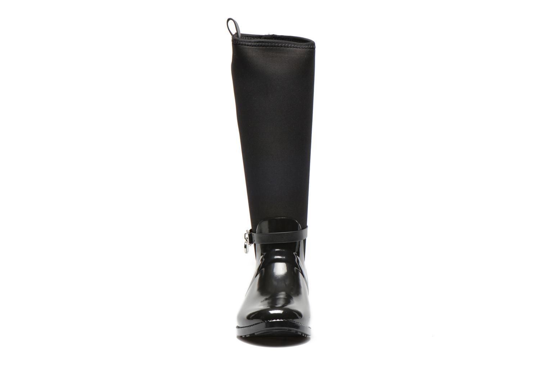 Bottes Michael Michael Kors Charme stretch rain boot Noir vue portées chaussures