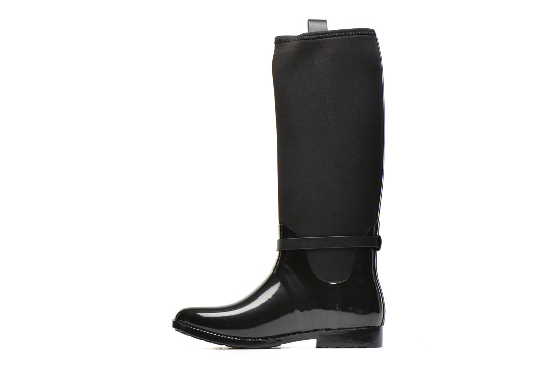 Bottes Michael Michael Kors Charme stretch rain boot Noir vue face