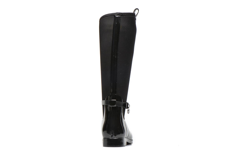 Bottes Michael Michael Kors Charme stretch rain boot Noir vue droite