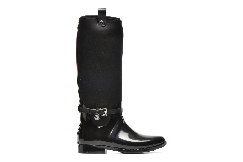 Bottes Michael Michael Kors Charme stretch rain boot Noir vue derrière