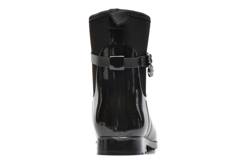 Bottines et boots Michael Michael Kors Charme stretch rain bootie Noir vue droite