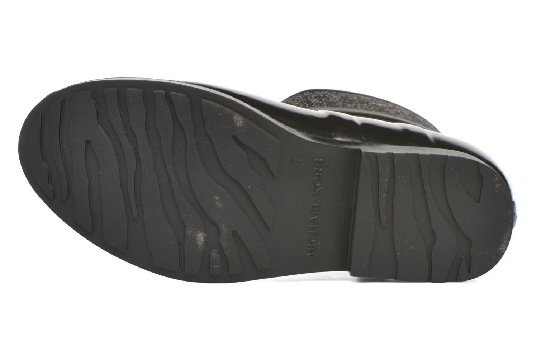 Bottines et boots Michael Michael Kors Charme stretch rain bootie Noir vue haut
