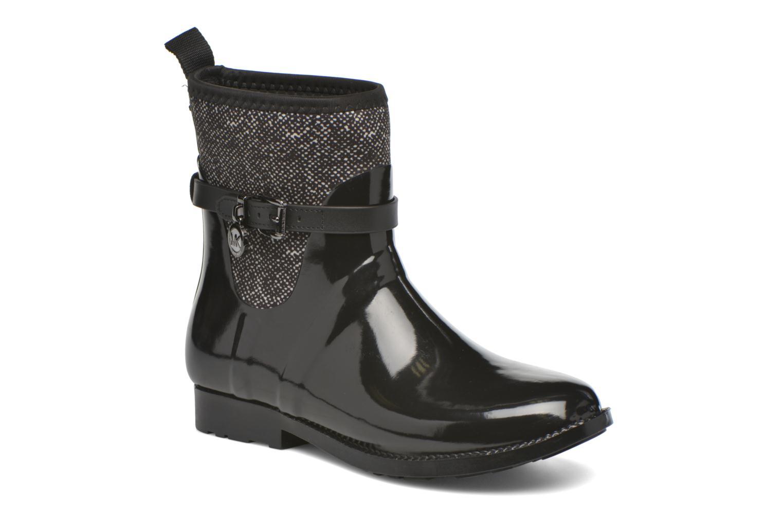 Bottines et boots Michael Michael Kors Charme stretch rain bootie Noir vue détail/paire