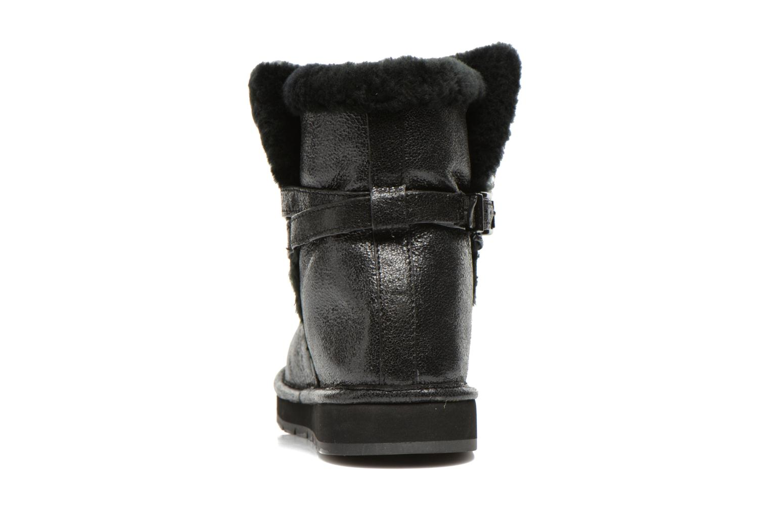 Ankle boots Michael Michael Kors Sandy bootie Black view from the right