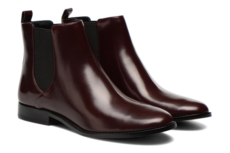 Bottines et boots Michael Michael Kors Thea bootie Bordeaux vue 3/4
