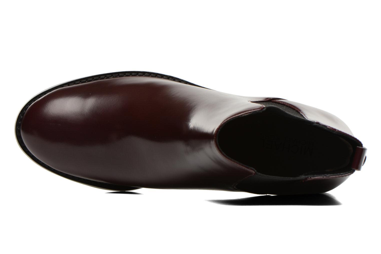 Bottines et boots Michael Michael Kors Thea bootie Bordeaux vue gauche