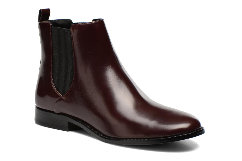 Bottines et boots Michael Michael Kors Thea bootie Bordeaux vue détail/paire