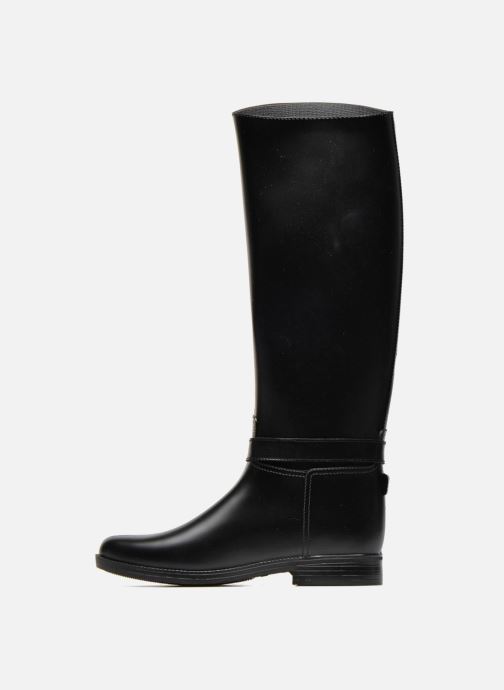 Stiefel Méduse Flamille schwarz ansicht von vorne