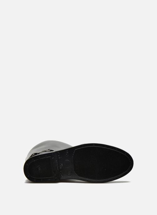 Stiefel Méduse Flamille schwarz ansicht von oben