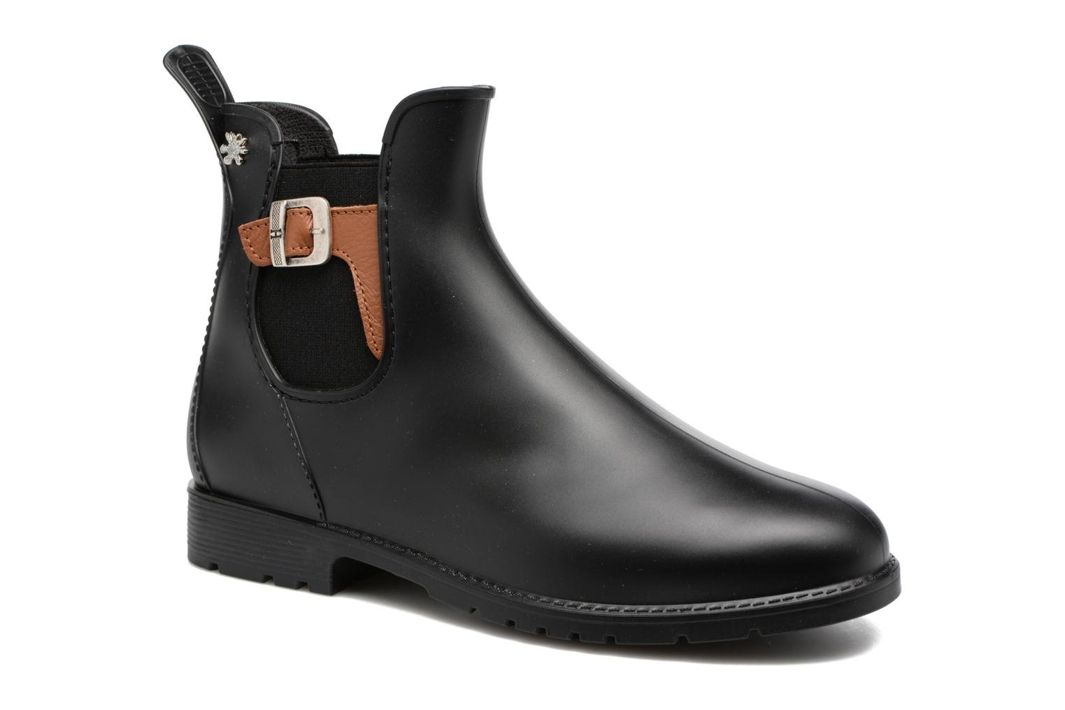 Ankle boots Méduse Jumpat Black detailed view/ Pair view