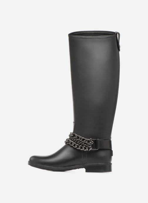 Botas Love Moschino Rain chain boot Negro vista de frente