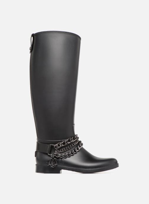 Botas Love Moschino Rain chain boot Negro vistra trasera