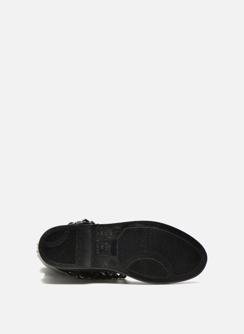 Botas Love Moschino Rain chain boot Negro vista de arriba