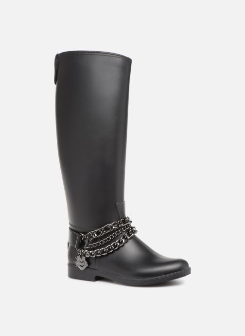 Boots & wellies Love Moschino Rain chain boot Black detailed view/ Pair view